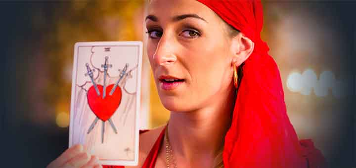 Tarot Card Love Readings And Answers From 45p - Tarot Reading Lines